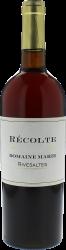 Rivesaltes Domaine Marie 1942 Vin doux naturel Rivesaltes, Vin doux naturel