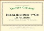 Puligny Montrachet les Folatières 2007 Domaine Girardin Vincent, Bourgogne blanc