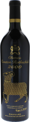 Mouton Rothschild 2000 1er Grand cru classé Pauillac, Bordeaux rouge