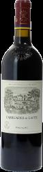 Carruades de Lafite 2002 2ème vin de LAFITE ROTHSCHILD Pauillac, Bordeaux rouge