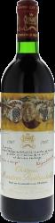 Mouton Rothschild 1987 1er Grand cru classé Pauillac, Bordeaux rouge
