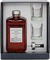 Whisky Japonais Nikka From The Barrel  Coffret Evolution Avec Deux Verres (50 Cl) 51,40°  Whisky