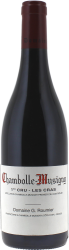 Chambolle Musigny 1er Cru les Cras 2015 Domaine Roumier Georges, Bourgogne rouge