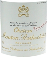 Mouton Rothschild 1958 1er Grand cru classé Pauillac, Bordeaux rouge