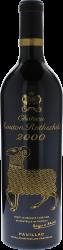 Mouton Rothschild 2000 1er Grand cru classé Pauillac, Bordeaux rouge