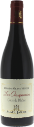 Côtes du Rhône Domaine du Grand Veneur les Champauvins 2016  Côtes du Rhone, Sélection Vallée du Rhone rouge