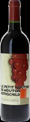 Petit Mouton 2013 2nd vin de Mouton Rothschild Pauillac, Bordeaux rouge