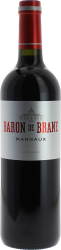 Baron de Brane 2017 2nd vin du Château D