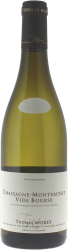 Chassagne Montrachet 1er Cru Vide Bourse 2017 Domaine Morey Thomas, Bourgogne blanc