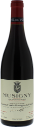 Musigny Vieilles Vignes Grand Cru 2017 Domaine de Vogue, Bourgogne rouge