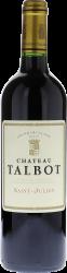 Talbot 1986 4ème Grand cru classé Saint-Julien, Bordeaux rouge