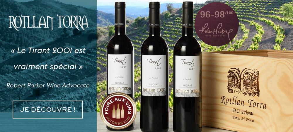 Tirant Domaine Rotllan Torra 2001 Foire Aux Vins