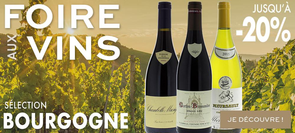 Selection Bourgogne Foire aux Vins 2018 MILLESIMES