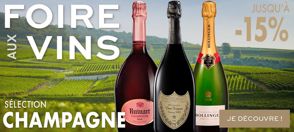 Selection Champagne Foire aux Vins MILLESIMES