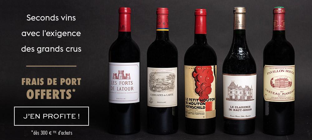 Offre seconds vins de Bordeaux