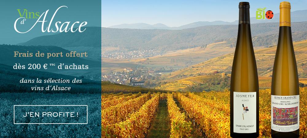 Sélection vins d'Alsace
